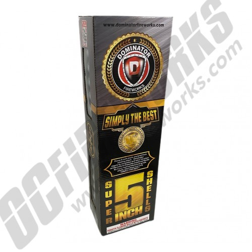 """Simply The Best 5"""" Canister Artillery Shells 24ct Kit"""
