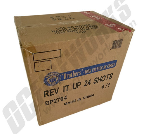 Wholesale Fireworks Rev It Up 4/1 Case
