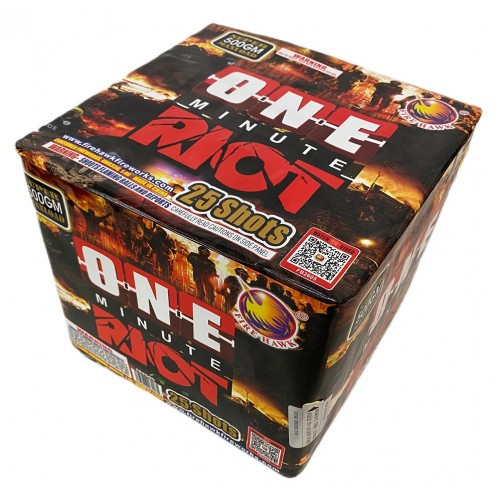 Wholesale Fireworks One Minute Riot 4/1 Case