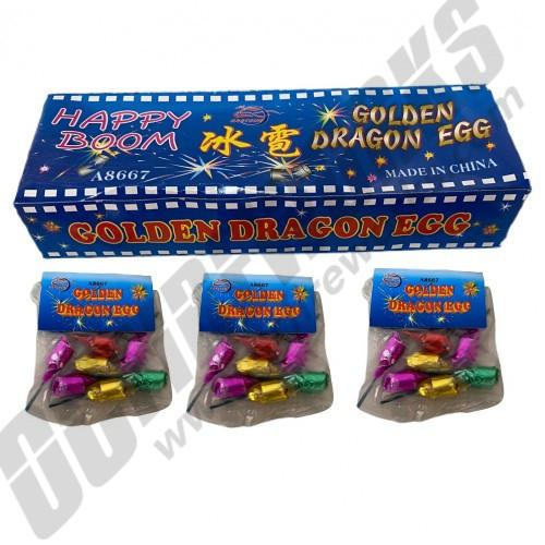 Happy Boom Golden Dragon Eggs Display Box 24/6