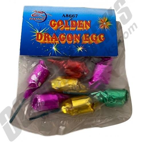Happy Boom Golden Dragon Eggs 6pk