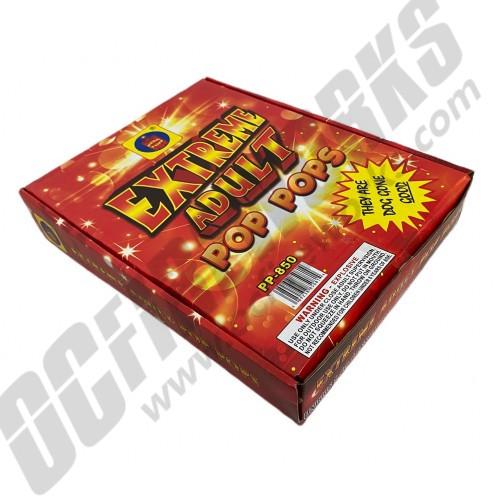 Extreme Adult Pop Pops Display Box 30/20