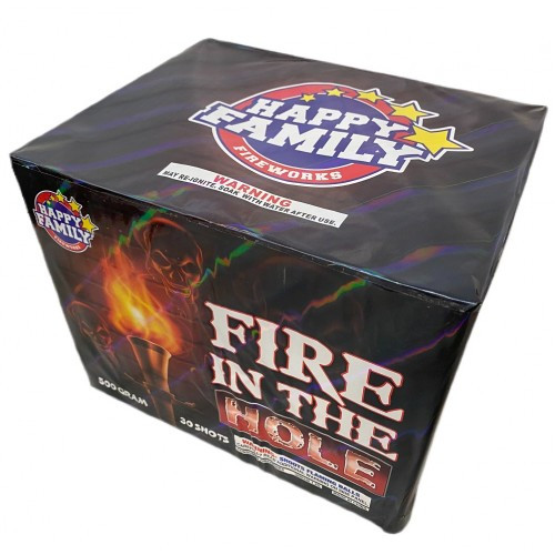 Wholesale Fireworks Fire In The Hole 3/1 Case