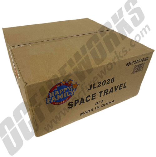 Wholesale Fireworks Space Travel 4/1 Case