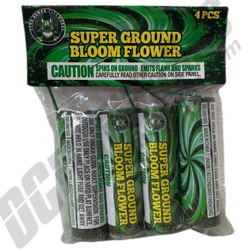 Super Ground Bloom Flowers 4pk