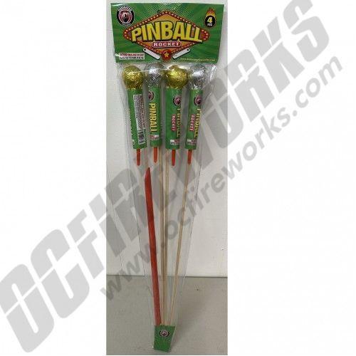 Pinball Rocket 4pk