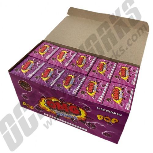 OMG Drops All Purple 50ct Display Box (Snap Pops)