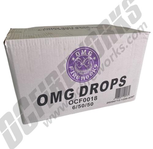 Wholesale Fireworks OMG Drops All Purple (Snap Pops) Case 6/50/50