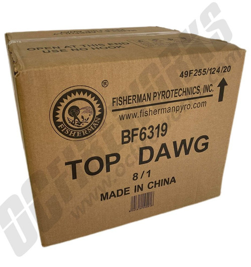 Wholesale Fireworks Top Dawg Case 8/1