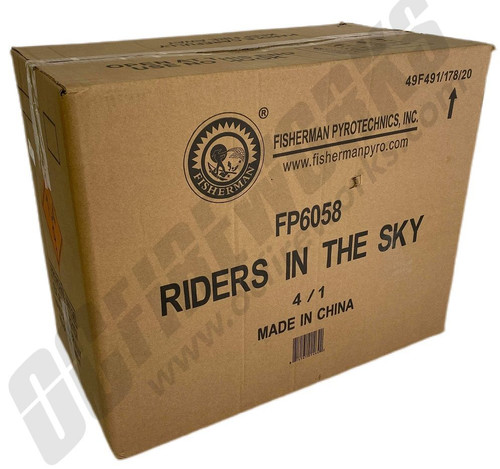 Wholesale Fireworks Riders In The Sky Case  4/1