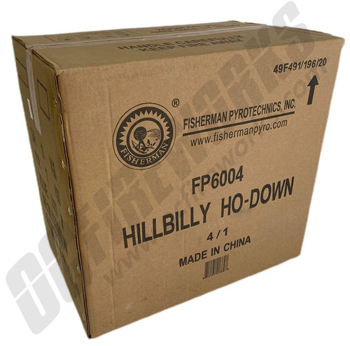 Wholesale Fireworks Hillbilly Ho-Down Case 4/1