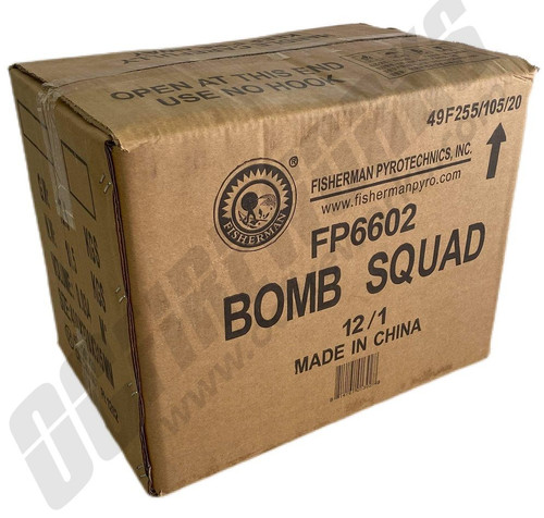 Wholesale Fireworks Bomb Squad Case 12/1