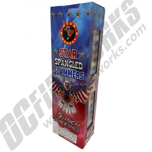 "Star Spangled Slammers 5"" Super Shells 24ct"