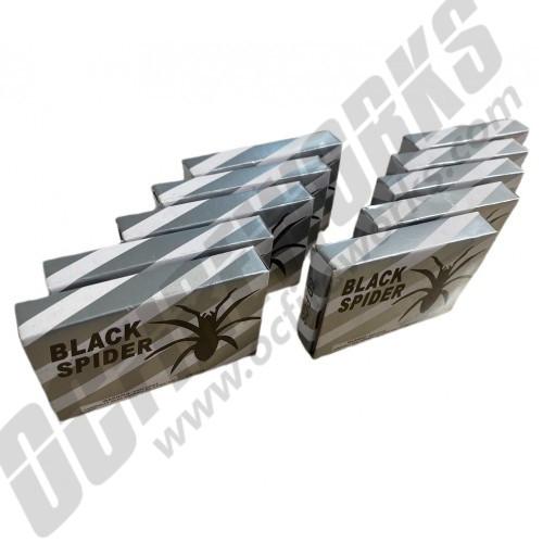 Black Spider Firecrackers 600ct Brick
