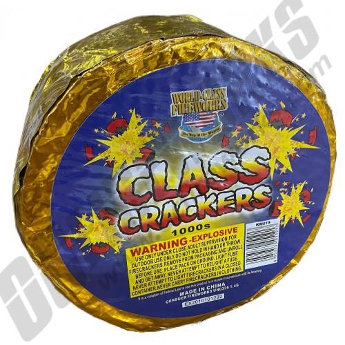 World Class Crackers 1,000 Roll