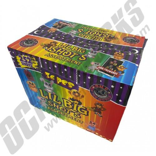Wholesale Fireworks Lil Big Shots Assorted Case 36/1