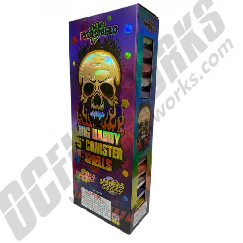 """Big Daddy 5"""" Canister Shells 24pk"""