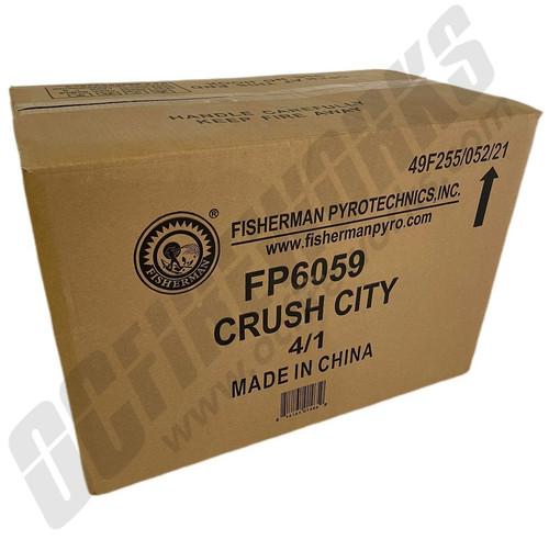 Wholesale Fireworks Crush City Case 4/1