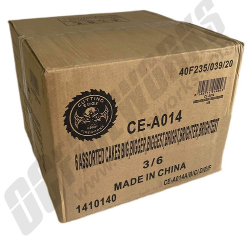 Wholesale Fireworks The Biggest, Baddest and Brightest Case 18/1