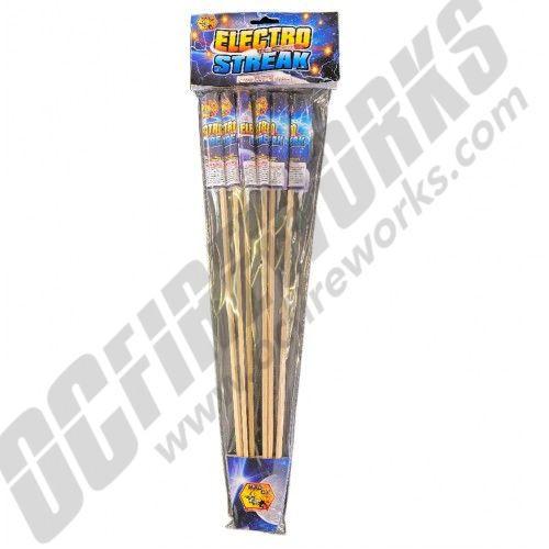 Electro Streak Rockets 6pk
