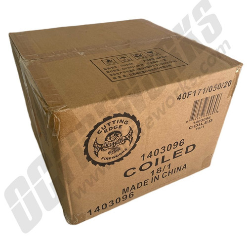Wholesale Fireworks Coiled Case 18/1