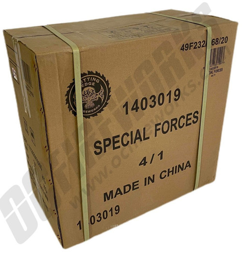 Wholesale Fireworks Special Forces Case 4/1