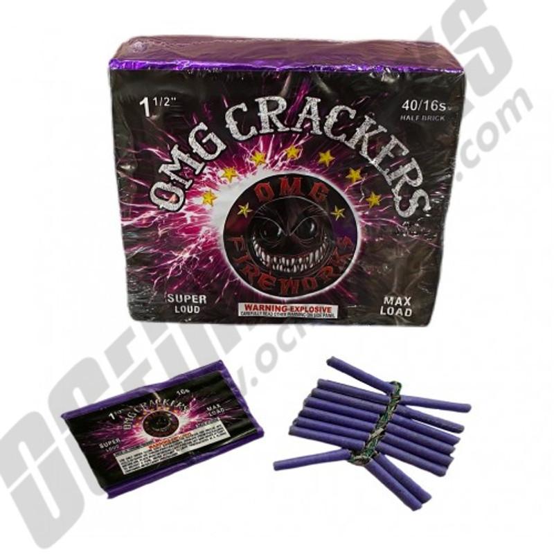 OMG Crackers Half Brick 40/16
