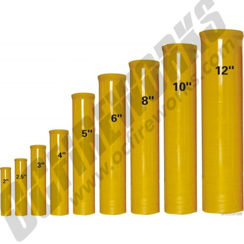 """2.5"""" Fiberglass Mortar Tube (Single Tube)"""