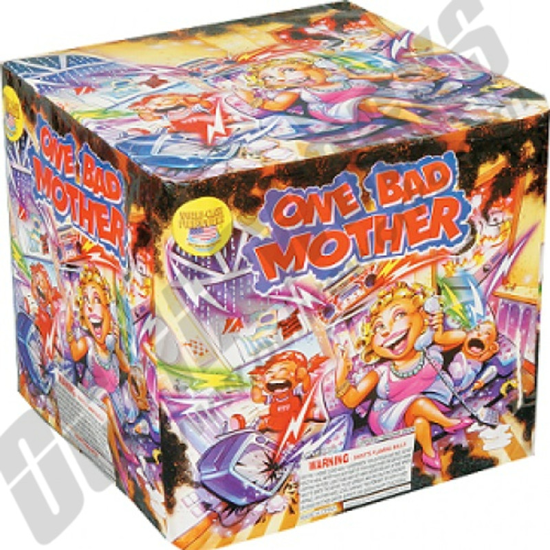 Wholesale Fireworks One Bad Mother Case 4/1