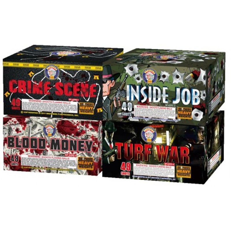 MOB Madness 4-Pack Assortment