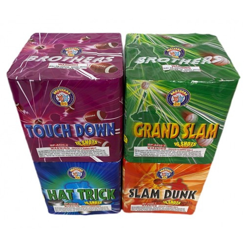 Wholesale Fireworks All Star Action Case 8/1
