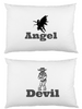 Angel Devil Pillow cases custom