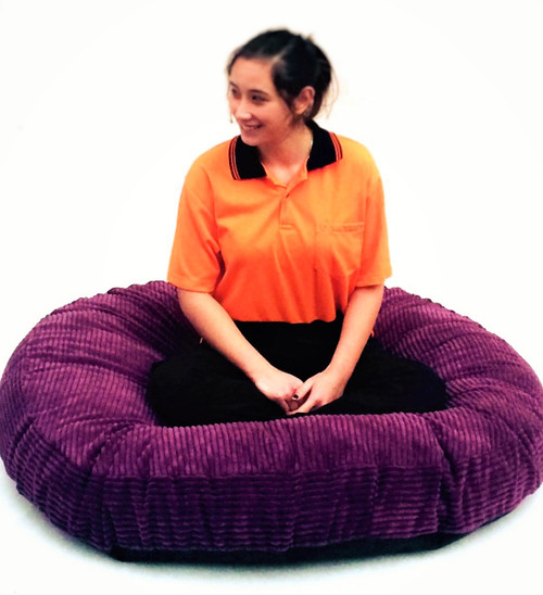 Huge Thick round floor cushion