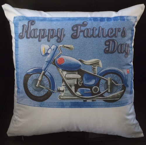 Fathers day cushion personalize with text