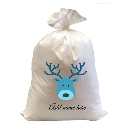 Santa Sack Special Personalise 50 cm wide 75 cm high custom