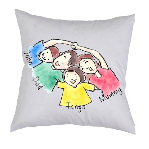 Kids drawing cushion