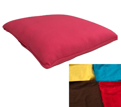 90 cm square floor cushion (cover only) Heavy Duty Cotton Drill  3 Colours available FREE postage