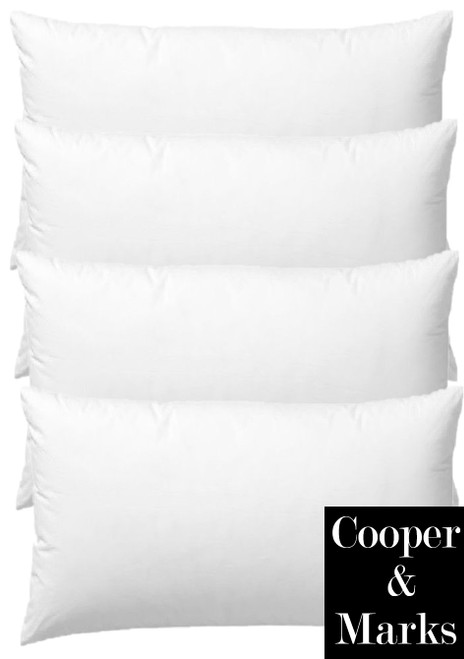 Cooper & Marks Set of 4 Hotel Quality Bed Pillows