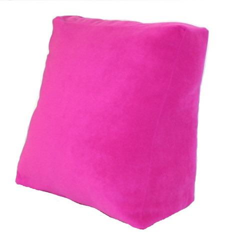 Bed Reading Pillow Cushion 50cm wide Removable Cover