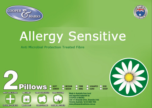 Allergy sensitive pillows