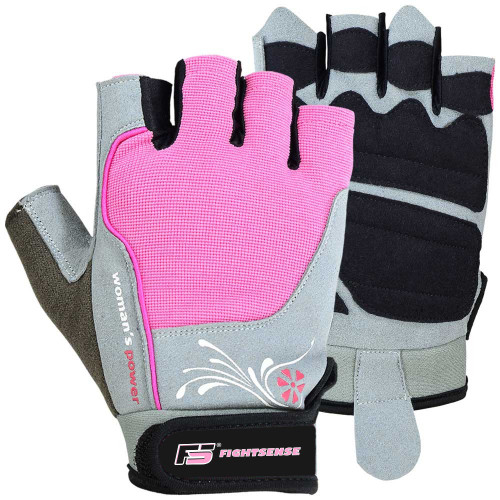 FIGHTSENSE Ladies Weightlifting Gloves www.fsboxing.com