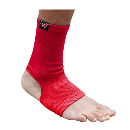 FIGHTSENSE Anklet Foot Color Red www.fsboxing.com