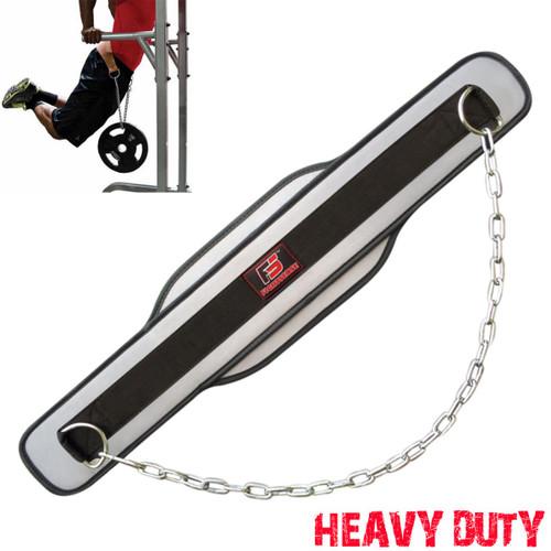 FIGHTSENSE Weightlifting Dip Belt www.fsboxing.com