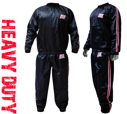 FIGHTSENSE Sauna Suit Pink Color www.fsboxing.com
