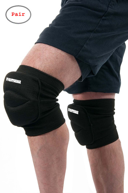 FIGHTSENSE Knee Pads Protection www.fsboxing.com
