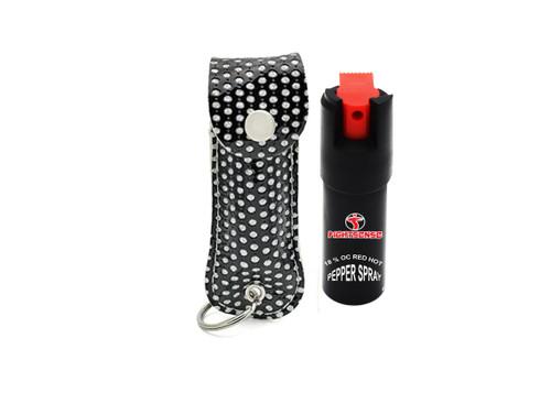 FIGHTSENSE Pepper Spray Color Black Bling www.fsboxing.com