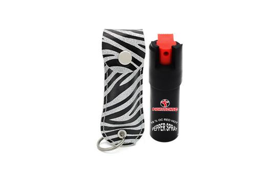 FIGHTSENSE Pepper Spray Color Black Zebra www.fsboxing.com