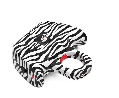 FIGHTSENSE Stun Gun Self Defence Color Zebra www.fsboxing.com