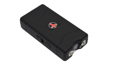 FIGHTSENSE Super Heavy Duty Stun Gun for Self Defense with Bright Led Flashlight, Rechargeable Battery, Nylon Holsters with Belt Loop for Easy Cary(Black) www.fsboxing.com