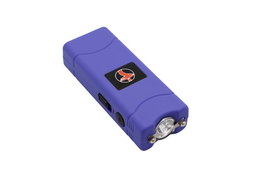 FIGHTSENSE Super Heavy Duty 45 Billion Stun Gun for Self Defense with Bright Led Flashlight, Rechargeable Battery, Nylon Holsters(Purple) www.fsboxing.com